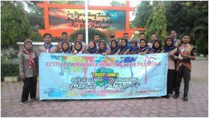 TIM Kwartir SMKN 1 Trenggalek Mengikuti Festival Wirakarya Kampung Kelir Pramuka Tahun 2019