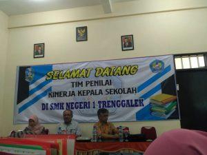 Penilaian Kinerja Kepala Sekolah (PKKS) di SMKN 1 Trenggalek